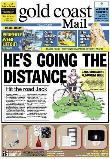 Jack\'s front page story