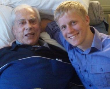 Mr Stan Bisset and I