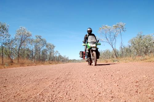 Me on the Savannah Way in the Northern Territory