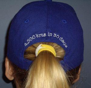 Charity ride cap