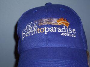 Perth to Paradise cap