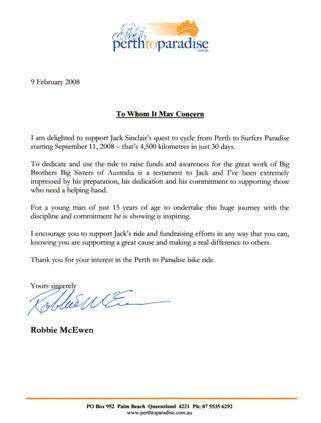 Robbie McEwen Ride Ambassador